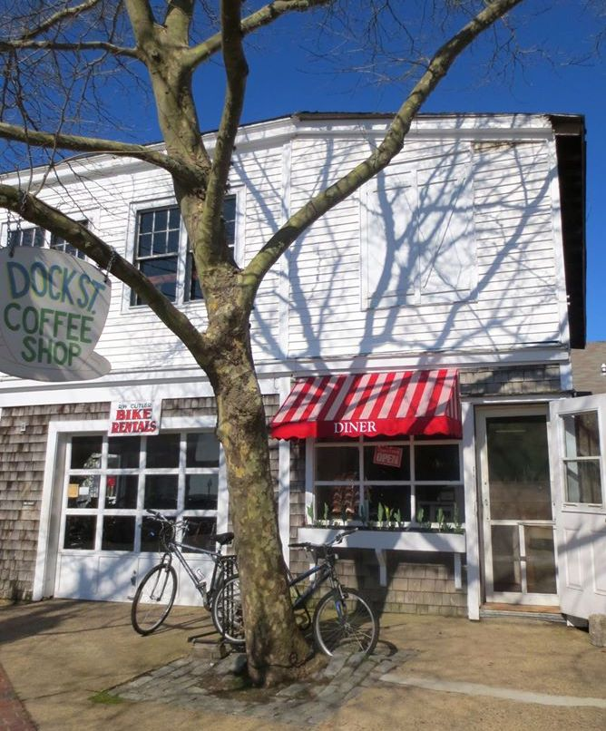 Takeout Options On Martha's Vineyard During The Pandemic: Dock Street Coffee Shop Edgartown Takeout Food