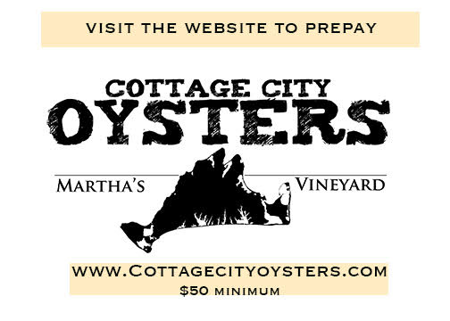 Takeout Options On Martha's Vineyard During The Pandemic: Cottage City Oysters Home Delivery