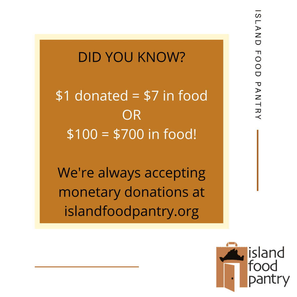 Join Us For Giving Tuesday Support The Island Food Pantry Help Raise At Least $5000 Sponsored By Point B Realty