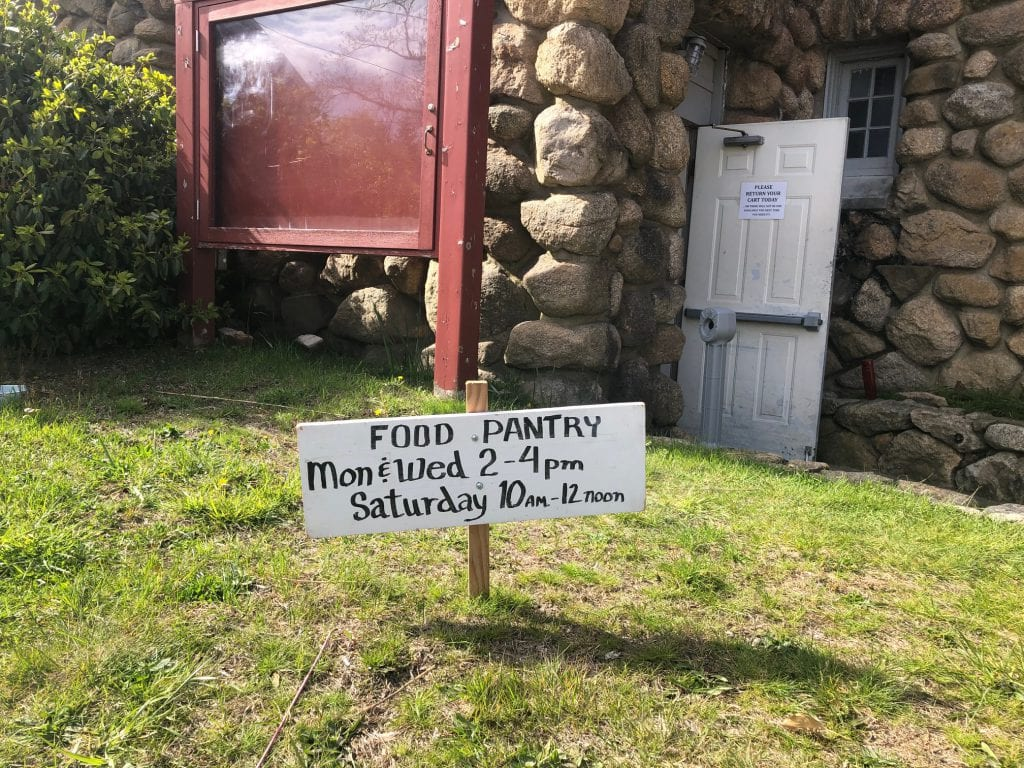Join Us For Giving Tuesday Support The Island Food Pantry - Because No one Should Go Hungry on Martha's Vineyard - Our Goal is to raise $12,000+