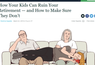 The Biggest Threat To Your Retirement Is...Your Kids?!