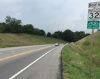 2016-08-21_12_17_53_View_north_along_Maryland_State_Route_32__Sykesville_Road__at_Raincliffe_Road_in_Sykesville__Carroll_County__Maryland.jpg