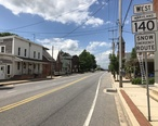 2019-05-20_14_01_31_View_west_along_Maryland_State_Route_140__Baltimore_Street__just_west_of_Maryland_State_Route_194__Frederick_Street-York_Street__in_Taneytown__Carroll_County__Maryland.jpg