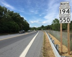 2016-09-20_15_16_55_View_north_along_Maryland_State_Route_194_and_Maryland_State_Route_550__Woodsboro_Pike__just_north_of_Liberty_Street_in_Woodsboro__Frederick_County__Maryland.jpg