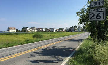 2016-07-20_16_39_17_View_south_along_Maryland_State_Route_261__Bay_Avenue__north_of_Ninth_Street_in_North_Beach__Calvert_County__Maryland.jpg