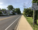 2019-05-22_18_11_13_View_north_along_Maryland_State_Route_261__Bayside_Road__at_Maryland_State_Route_260__Chesapeake_Beach_Road__in_Chesapeake_Beach__Calvert_County__Maryland.jpg