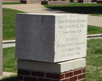Cornerstone_of_Haskell_State_School_of_Agriculture__built_1911__demolished_1987.JPG
