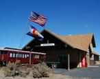 Antonito_Train-Station_Flags_2012-10-23.JPG