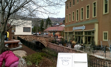 The_side_of_the_Spa__with_bridge_over_Fountain_Creek.JPG