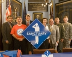A_sign_for_the_Sanctuary_for_Soldiers.jpg
