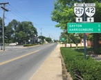 2016-06-26_16_07_49_View_north_along_Virginia_State_Route_42_and_west_along_Virginia_State_Route_257__Main_Street__at_Green_Street_in_Bridgewater__Rockingham_County__Virginia.jpg