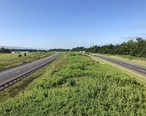 2019-07-09_09_34_44_View_south_along_Interstate_81_from_the_overpass_for_Virginia_State_Route_720__Wissler_Road__in_Mount_Jackson__Shenandoah_County__Virginia.jpg