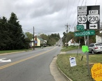 2018-10-10_15_37_46_View_west_along_U.S._Route_33_Business__Old_Spotswood_Trail__at_Virginia_State_Route_230__Madison_Road__in_Stanardsville__Greene_County__Virginia.jpg