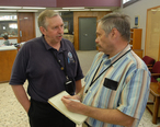 FEMA_-_31867_-_A_newspaper_reporter_interviews_a_FEMA_Public_Information_Officer.jpg