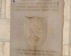 Meriden__CT_-_City_Hall_-_Lincoln_plaque_01.jpg