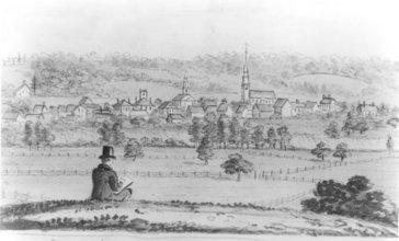 John_Warner_Barber_-_Northwest_View_of_Farmington_from_Round_Hill.jpg