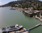 Aerial_view_of_ferry_docking_at_Sausalito.JPG