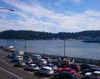 Seattle-bound_cars_waiting_at_Bainbridge_Island_Ferry_Terminal.jpg