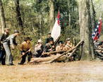 First_reenactment_of_the_Battle_of_Natural_Bridge_of_1865_in_1975.jpg