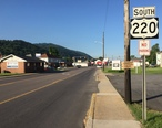 2016-06-18_07_40_17_View_south_along_U.S._Route_220__Mineral_Street__at_Maryland_Street_in_Keyser__Mineral_County__West_Virginia.jpg