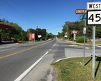 2016-09-27_10_24_16_View_west_along_West_Virginia_State_Route_45__Martinsburg_Pike__at_University_Drive_in_Shepherdstown__Jefferson_County__West_Virginia.jpg