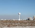 Navarre_Beach_with_water_tower.JPG
