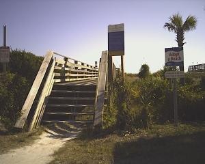 dune walkover