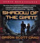 Science Fiction Audiobooks - Shadow of the Giant by Orson Scott Card