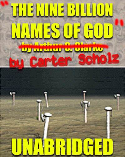 Review of The Nine Billion Names Of God by Carter Scholz : SFFaudio