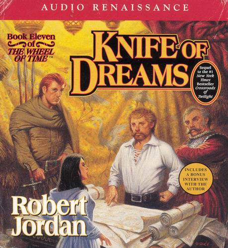 Knife of Dreams (The Wheel of Time, Book 11), Robert Jordan, Good Condition, Boo