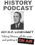 HistoryPodcast #31 - H.P. Lovecraft