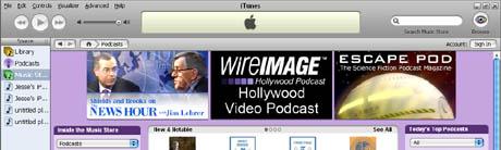 iTunes Escape Pod