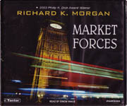 Science Fiction Audiobook - Market Forces by Richard K. Morgan