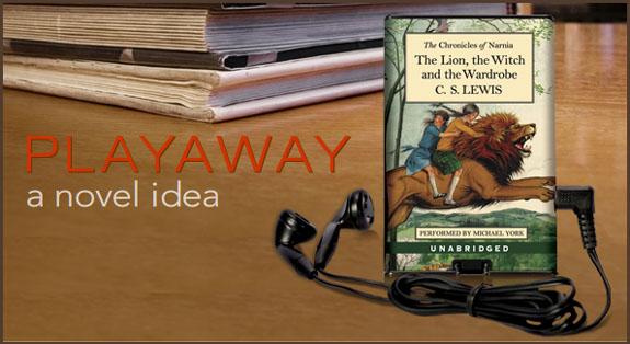 Playaway Digital Audiobook Player
