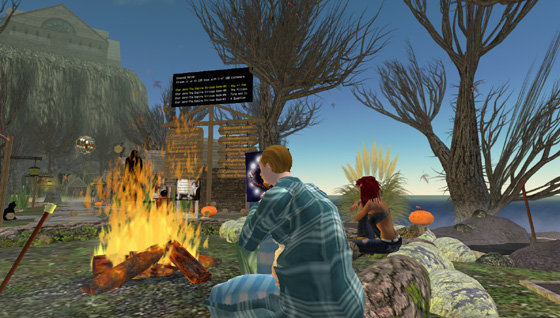 Snapshot from the OCTOBER COUNTRY in Second Life
