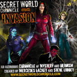Fantasy Superheroes Podiobook -The Secret World Chronicle Book One Invasion by Mercedes Lackey and Steve Libbey