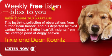 Bliss To You by Dean Koontz and his dead dog
