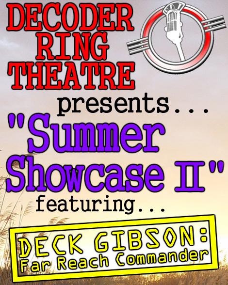 Decoder Ring Theatre SUMMER SHOWCASE