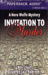 Durkin Hayes Mystery Audiobook - Invitation to Murder by Rex Stout