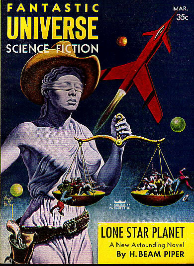Lone Star Planet - Fantastic Universe Science Fiction