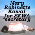 Mary Robinette Kowal for SFWA Secretary