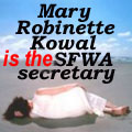 Mary Robinette Kowal is the SFWA Secretary