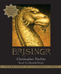 Random House Audio Fantasy Audiobook - Brisingr by Christopher Paolini