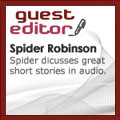 Spider Robinson is Audible's latest Sci-fi Guest Editor