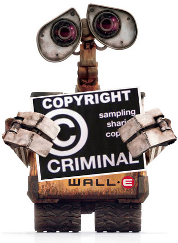 WALL-E, copyright criminal.