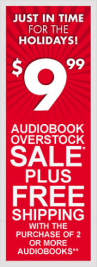 Blackstone Audiobooks Overstock Sale