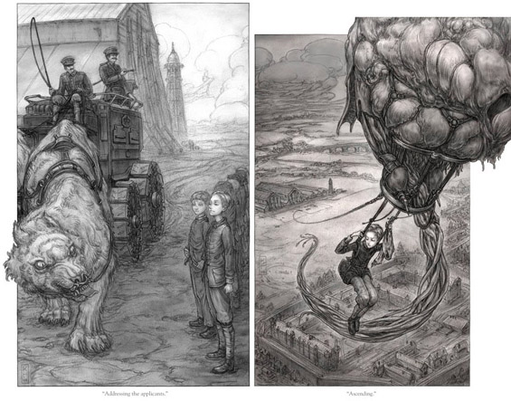 Leviathan Illustrations