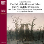 Naxos Audiobooks - The Fall Of The House Of Usher, The Pit And The Pendulum & Other Tales Of Mystery And Imagination by Edgar Allan Poe