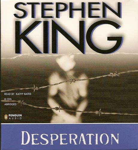 I had high hopes for Stephen King's Desperation (small band of people held