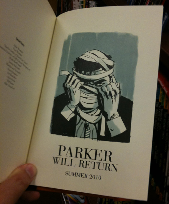 Parker Will Return Summer 2010